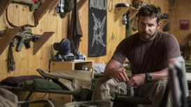 "Bradley Cooper appears in a scene from ""American Sniper."" (Keith Bernstein / Warner Bros. Pictures)"