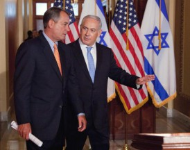 The Speaker of the House and the Israeli Prime Minister. Credit Photo: US News and World Report